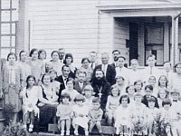 Fr. Stephan with congregation